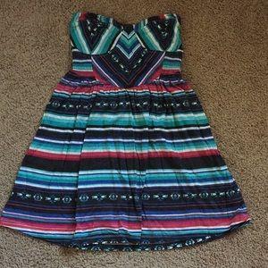 Billabong Stripe Dress M